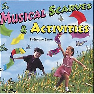Kimbo Musical Scarves and Activities by Kimbo