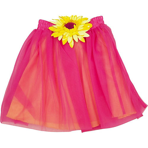 Acting Out Musical Sunshine Skirt in Hot Pink