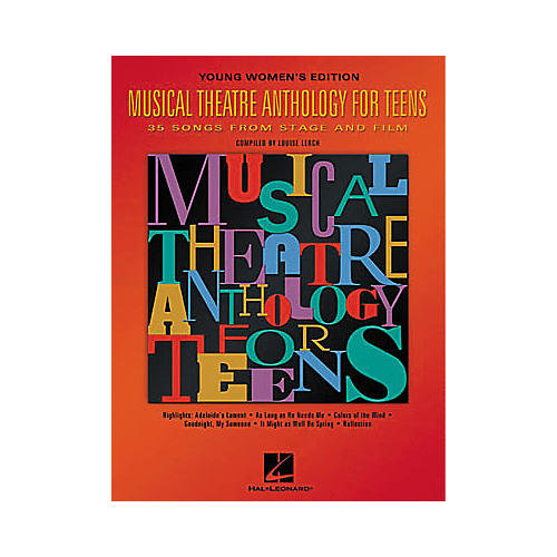 Hal Leonard Musical Theatre Anthology for Teens Book-thumbnail