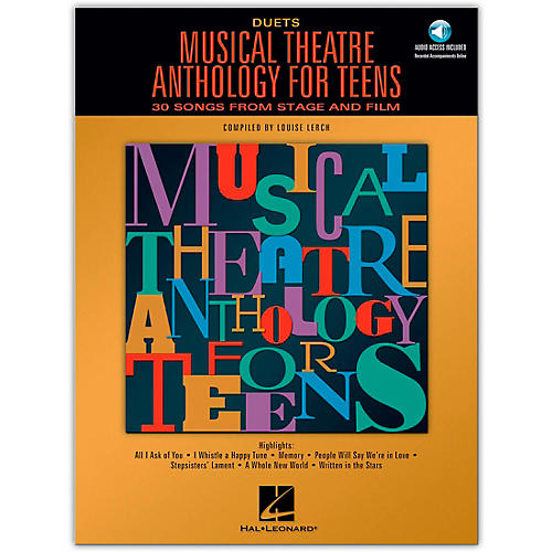 Hal Leonard Musical Theatre Anthology for Teens for Duets Book/Online Audio