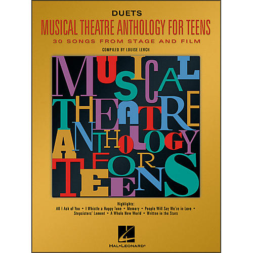 Hal Leonard Musical Theatre Anthology for Teens for Duets-thumbnail