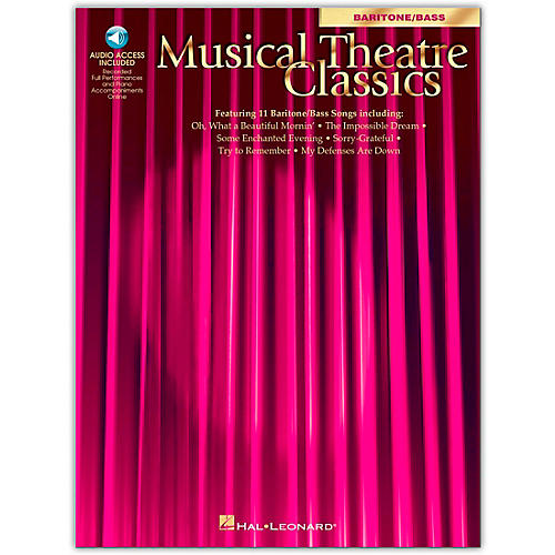 Hal Leonard Musical Theatre Classics for Baritone/Bass (Book/Online Audio)-thumbnail