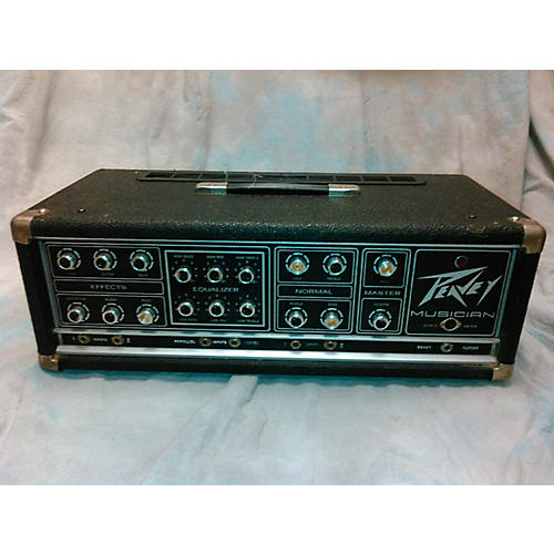 used peavey musician series 400 solid state guitar amp head guitar center. Black Bedroom Furniture Sets. Home Design Ideas