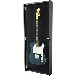Musician's Gear Electric Guitar Display Case (SO-069-MS900-BK)