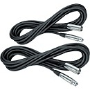 Musician's Gear Lo-Z Mic Cable 20' (2-Pack) (XC-20 2-Pack KIT)