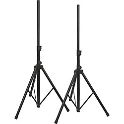 Musician's Gear Speaker Stand Pair (LS-700X-2 BK-MG)