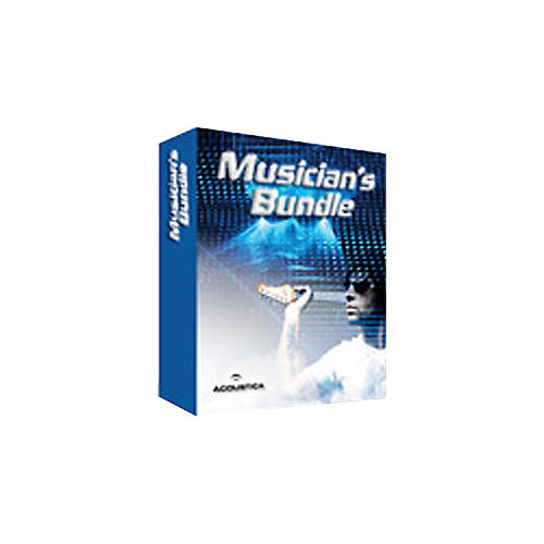 Acoustica Musician's Bundle with Mixcraft and Beatcraft Music Software