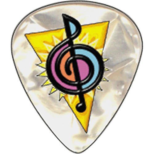 Clayton Musician's Friend Logo Guitar Picks-thumbnail