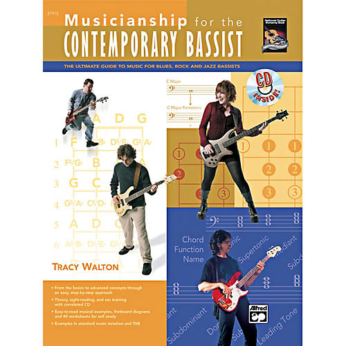 Alfred Musicianship for the Contemporary Bassist Book & CD