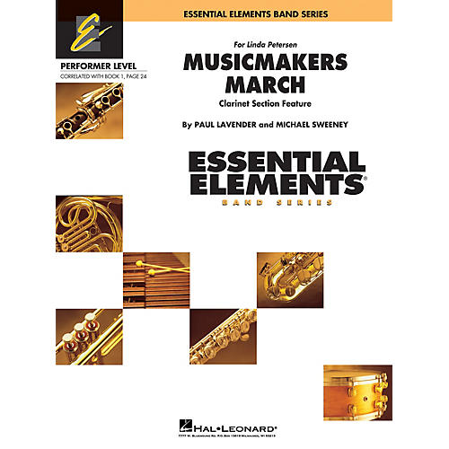 Hal Leonard Musicmakers March (Includes Full Performance CD) Concert Band Level .5 to 1 Composed by Michael Sweeney
