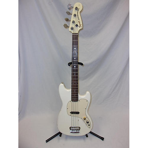 Squier Musicmaster Electric Bass Guitar