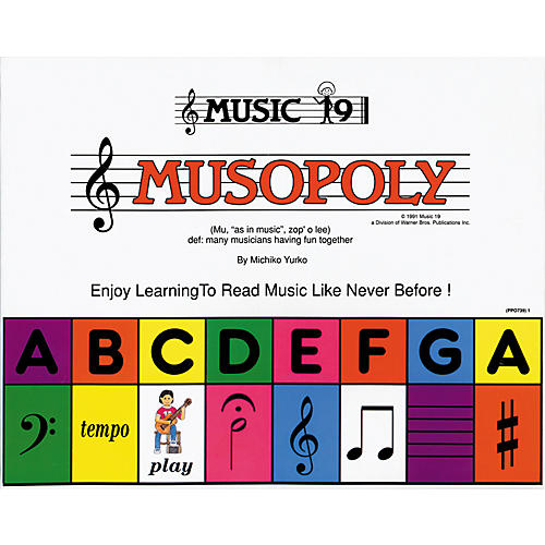 Alfred Musopoly Learn To Read Music (Game)-thumbnail