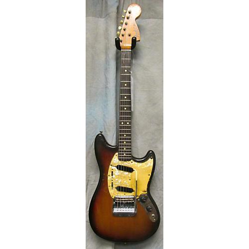 Fender Mustang 3 Tone Sunburst Solid Body Electric Guitar 3 Tone Sunburst