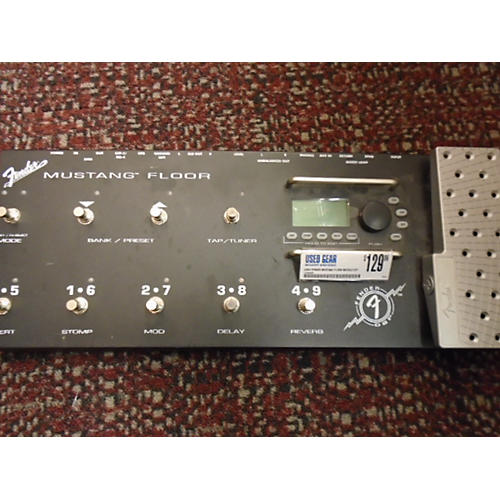 Fender Mustang Floor Module Effect Processor