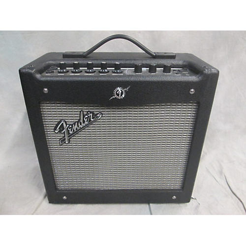Fender Mustang I V2 20W 1X8 Black Guitar Combo Amp-thumbnail