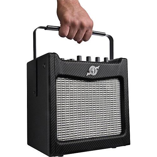 Fender Mustang Mini 7W 1x6.5 Battery-Powered Guitar Combo Amp Black