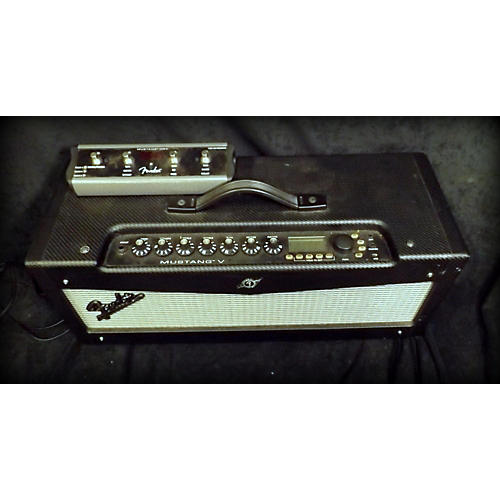 Fender Mustang V 150W Solid State Guitar Amp Head Guitar Stack-thumbnail