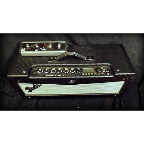 Fender Mustang V 150W Solid State Guitar Amp Head Guitar Stack