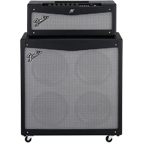 Fender Mustang V HD 150W Guitar Amp Head and 4x12 Guitar Speaker Cabinet