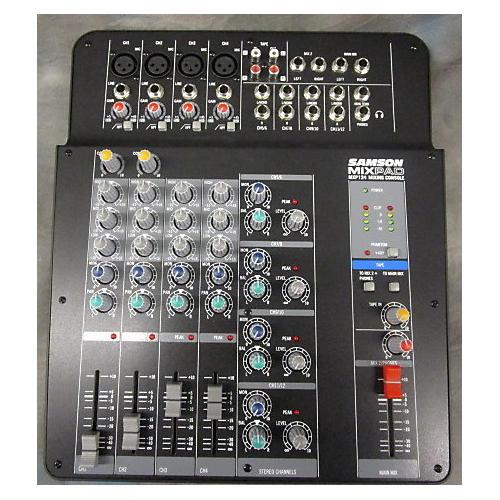 Samson Mxp124 Blk Powered Mixer
