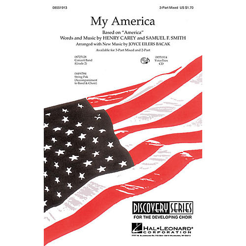 Hal Leonard My America VoiceTrax CD Composed by Joyce Eilers
