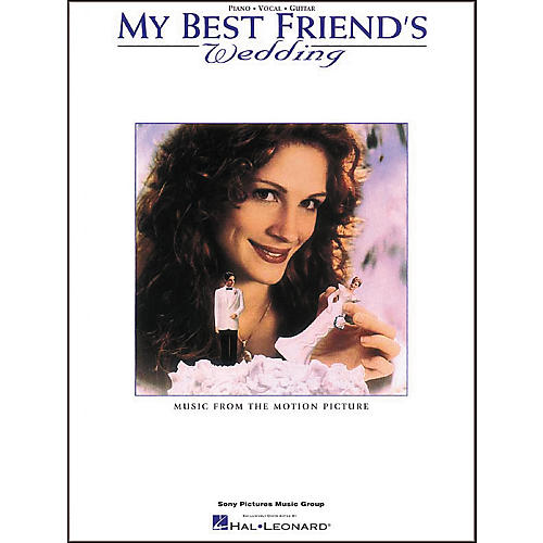 Hal Leonard My Best Friend's Wedding Piano, Vocal, Guitar Songbook-thumbnail