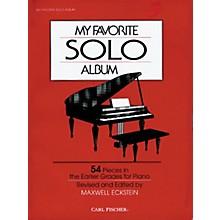 Carl Fischer My Favorite Solo Album Book