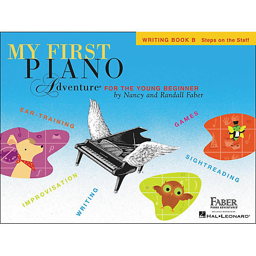 Faber Piano Adventures My First Adventure Writing Book B for The Young Beginner - Faber Piano-thumbnail