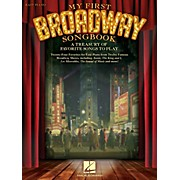 Hal Leonard My First Broadway Songbook - A Treasury of Favorite Songs to Play For Easy Piano