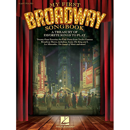 Hal Leonard My First Broadway Songbook - A Treasury of Favorite Songs to Play For Easy Piano-thumbnail
