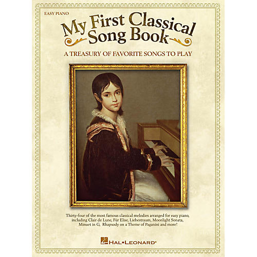 Hal Leonard My First Classical Song Book For Easy Piano-thumbnail