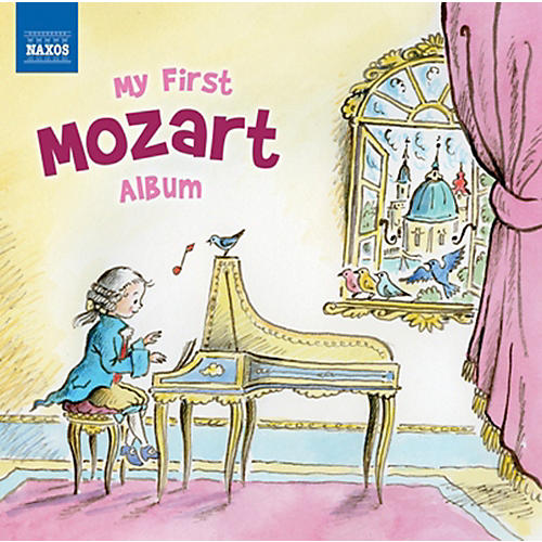 Alfred My First Mozart Album CD-thumbnail