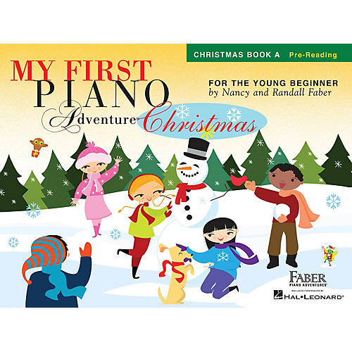 Faber Piano Adventures My First Piano Adventure Christmas - Book A Faber Piano Adventures by Nancy Faber (Level Pre-Reading)