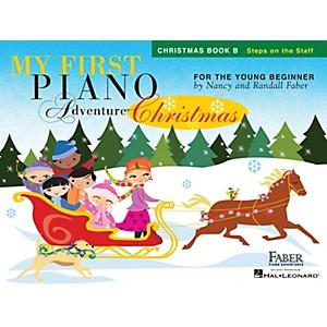 Faber Piano Adventures My First Piano Adventure Christmas - Book B Faber Pi...