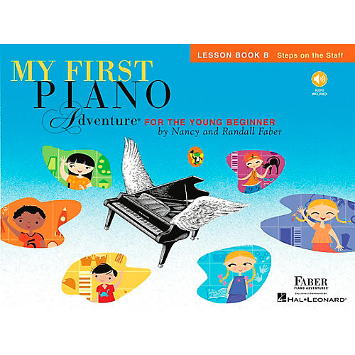 Faber Piano Adventures My First Piano Adventure Lesson Book B with CD