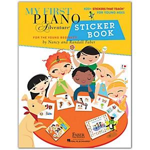 Faber Piano Adventures My First Piano Adventure Sticker Book-Faber Piano Ad...