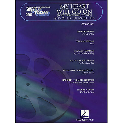 Hal Leonard My Heart Will Go On & 15 Other Top Movie Hits E-Z Play 290-thumbnail