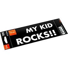 "Fender ""My Kid Rocks"" Bumper Sticker"