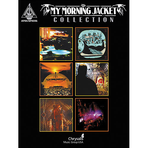 Hal Leonard My Morning Jacket Guitar Collection Tab Book