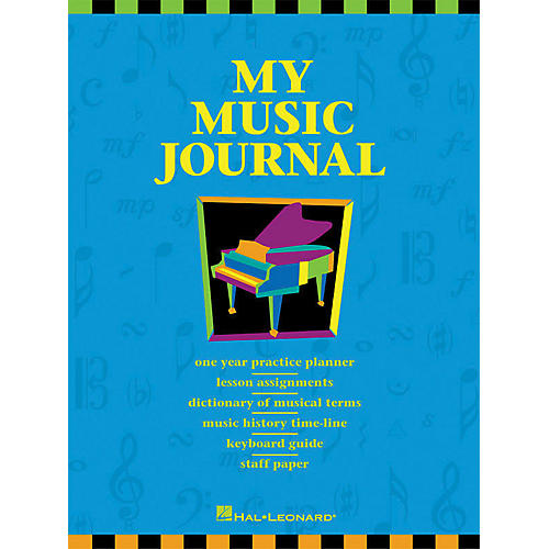 Hal Leonard My Music Journal Student Assignment Book HLSPL-thumbnail