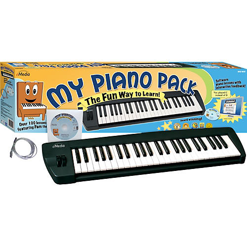 Emedia My Piano Pack MIDI Keyboard and Instructional CD-Rom-thumbnail