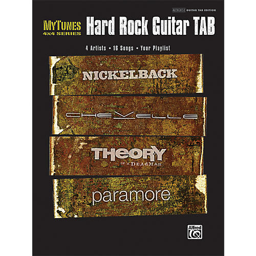 Hal Leonard MyTunes: Hard Rock Guitar Tab Book