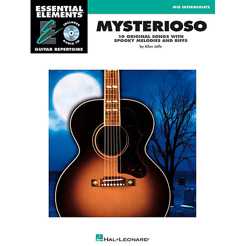 Hal Leonard Mysterioso - Mid Intermediate Essential Elements Guitar Repertoire Book/CD-thumbnail