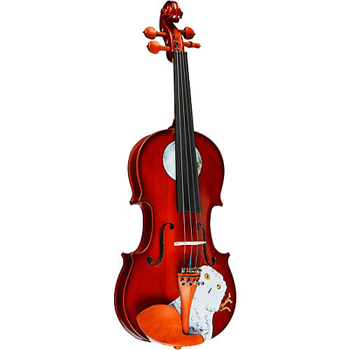 Rozanna's Violins Mystic Owl Series Violin Outfit-thumbnail