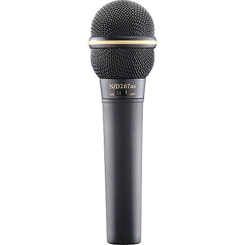 Electro-Voice N D267AS Dynamic Microphone with On Off Switch-thumbnail