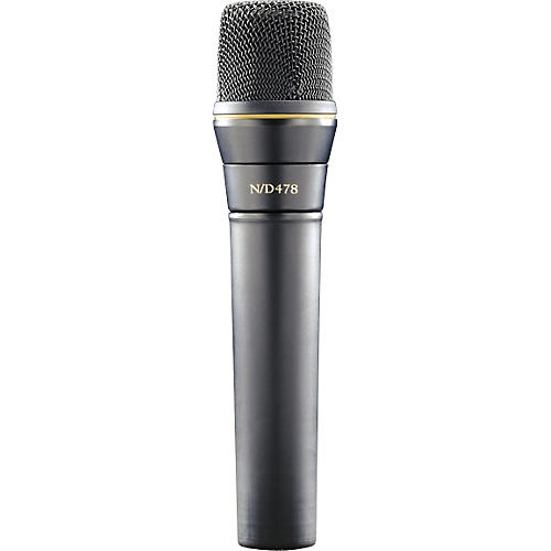 Electro-Voice N/D478 Cardioid Dynamic Instrument Microphone-thumbnail