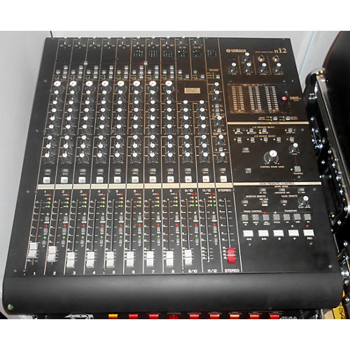 used yamaha n12 digital mixer guitar center. Black Bedroom Furniture Sets. Home Design Ideas