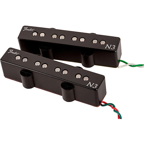 Fender N3 Noiseless Jazz Bass Pickups Set of 2-thumbnail