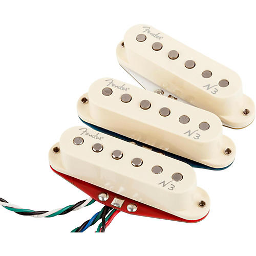 Fender N3 Noiseless Stratocaster Pickups Set of 3-thumbnail