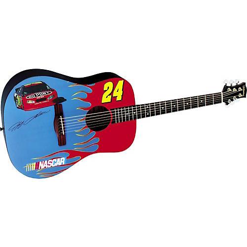 Silvertone NASCAR Collection Jeff Gordon Acoustic Guitar-thumbnail